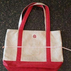 Handbags - Canvas Target Bag